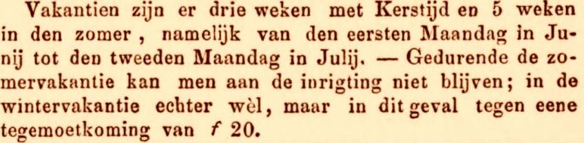 Zomervacantie De Oostpost - 13 februari 1856